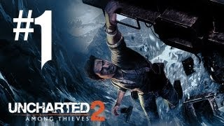 Uncharted 2 Gameplay Walkthrough - Part 1 - BLOOD, SNOW, AND CHLOE!! (PS3 Gameplay HD)