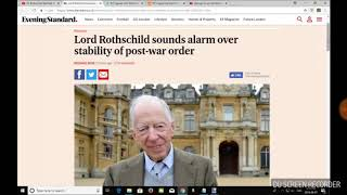 Economic Crash update - rothchild warns of economie crash