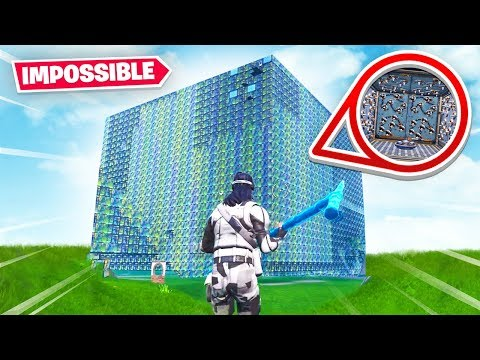 THIS FORTNITE CUBE IS IMPOSSIBLE TO ESCAPE Fortnite Creative Mode
