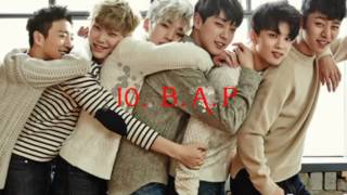 Top 10 Korean Boy Bands 2017