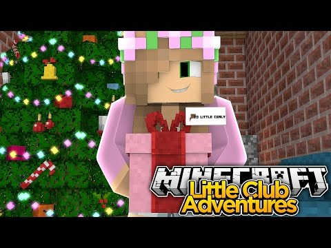 little kellys christmas present to little carly minecraft little club adventures playithub largest videos hub - Christmas Minecraft Videos