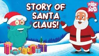 Story Of Santa Claus | Best Learning Videos For Kids | Dr Binocs | Peekaboo Kidz