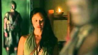 Gannicus & Melitta Scenes 1x03