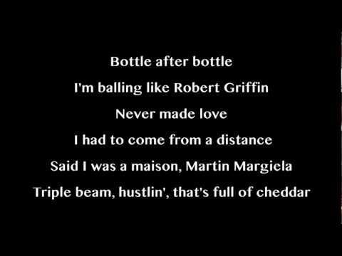 Cassie feat Rick Ross - Numb (Lyrics on screen)