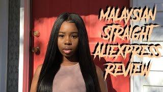 Virgo Hair Aliexpress Review| Malaysian Straight