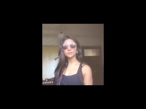 Mohena Singh Musical.ly on Kala Chasma Song