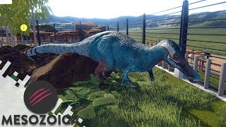 REST STOP AND BARYONYX WALKERI EXHIBIT - MESOZOICA (Gameplay)