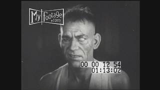 1920s Hollywood Lon Chaney Stock Footage HD