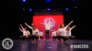 [3rd Place] McGill University - Urban Groove - The Academy Hip-Hop Dance Competition 2016