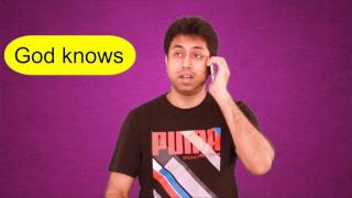 Daily English Speaking Practice Through Hindi   How to say भगवान ना करे, etc Learn Vocabulary   Awal
