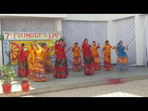 Rajasthani dance singhaniya school sikar