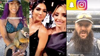 WWE Snapchat/Instagram ft. Sasha Banks, Riott Squad, IIConics, Braun Strowman, Sonya Deville n MORE