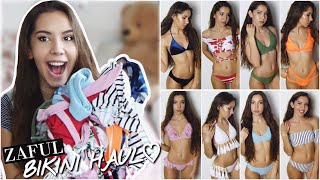 Huge Bikini TRY-ON HAUL Summer 2017 - ZAFUL | Valeria Greb