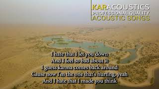 Nobody's Perfect (acoustic karaoke) - Jessie J.
