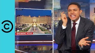There Are Worse Places To Be Detained Than The Ritz Carlton!   The Daily Show