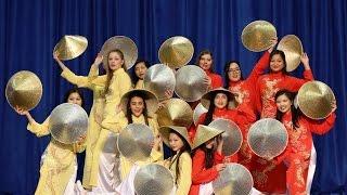 2016 Vietnamese Hat (non la) Dance to Y.Ê.U by MIN of ST.319