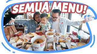 BELI SEMUA MENU DI KFC!!! #BORONG Wkwkwkw