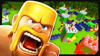 Clash of Clans + Minecraft