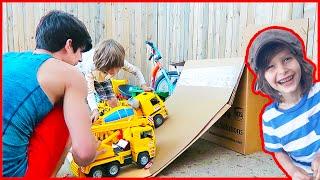 Toy Trucks Move To Washington