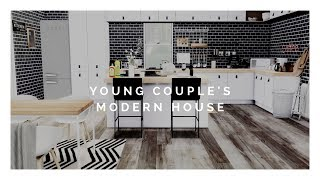 The Sims 4: Speed Build | YOUNG COUPLE