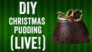 DIY Christmas pudding recipe (live stream!)
