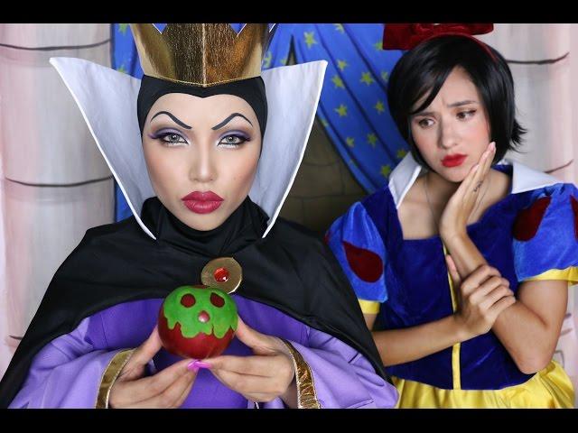 Snow White 'Evil Queen' Makeup Tutorial !!!