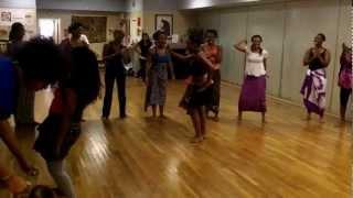 West African Dance at the Global Education Center, Nashville