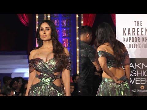 Xxx Mp4 Kareena Kapoor Khan Stunning Ramp Walk Lakme Fashion Week 3gp Sex