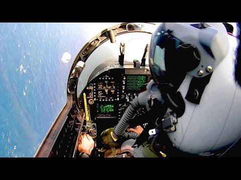 Cockpit View: F/A-18 Super Hornet - Catapult Launch, Arrested Landing