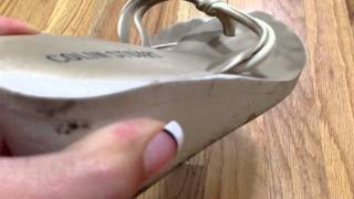 My Filthy White Sandals - Years Worn!