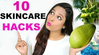 10 Skincare Hacks Using Coconut - Home Remedies | ShrutiArjunAnand