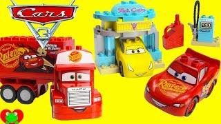 Disney Cars 3 Movie LEGO Duplo 10846 Lightning McQueen, Cruz Ramirez, Mack Truck Gumball Surprise