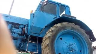 Запуск трактора МТЗ 80 с пускача