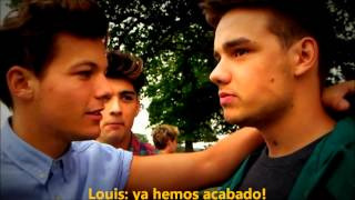 One Direction Live While We're Young (Behind The Scenes) [subtitulado español]