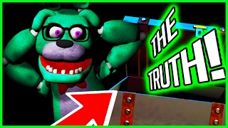 FNAF 🌟ALL REVEALED IN SUPER SERIOUS LEGIT GAME! NO JOKES OR CLICKBAIT🌟 - Five Nights at Freddy's