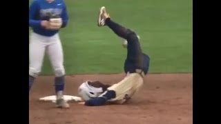 How not to slide to the base!