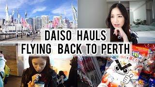 Daiso Haul   Flying Back home
