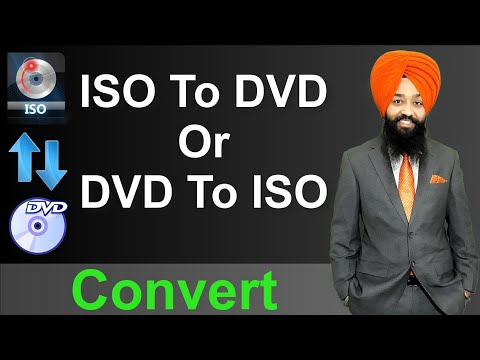 DVD To ISO and ISO To DVD Convert in HINDI / URDU