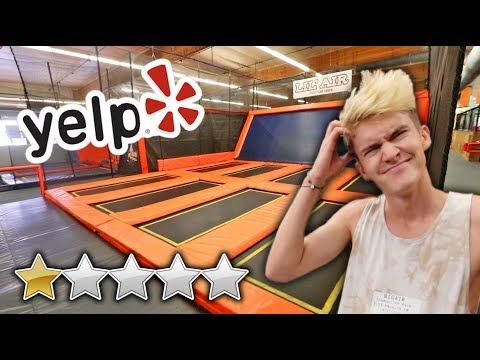 WE WENT TO THE WORST REVIEWED TRAMPOLINE PARK