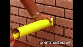 Slips brick pointing with a PointMaster