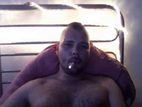 night smoke after some beer... watching some hot vids.