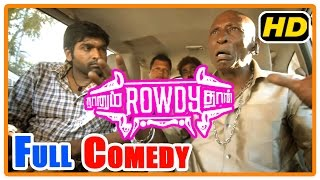 Naanum Rowdy Dhaan Movie | Scenes | Full Comedy 2  | Vijay Sethupathi | Nayantara | Parthiban
