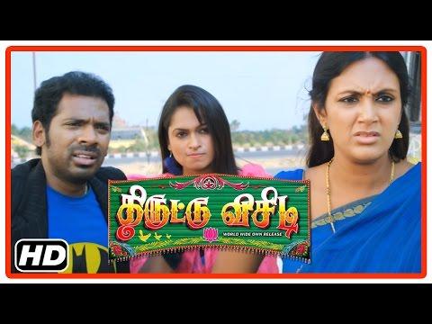Thiruttu VCD Tamil Movie   Scenes   Prabha escapes from Vichu   Devadarshini   Sukumar