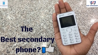 The best secondary phone? The card phone 900rs