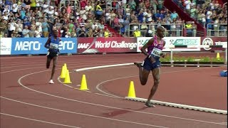 10000m Men Golden Spike Ostrava 2017 - Mo Farah 27:12.09 [English Commentary]