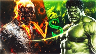 Ghost Rider VS Hulk l Rap Battle MD