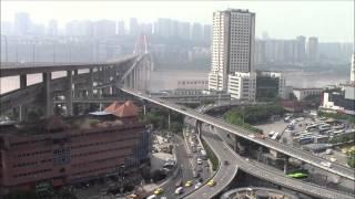 重庆菜园坝立交, Chongqing CaiYuanBa Intersection 25/Jul/2015
