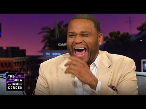 What Anthony Anderson Did on His Mom's Bed...