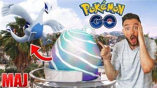 LES POKEMON GO LEGENDAIRE SONT LA ! - Pokemon GO MISE A JOUR