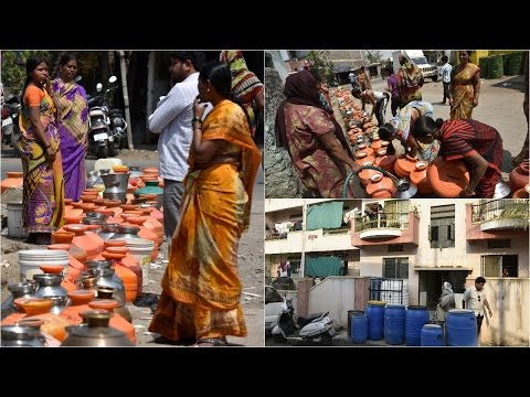 Drought-hit Latur faces water crisis, tankers get police Protection